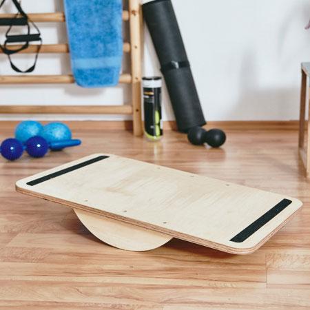 Home Dzine Home Diy Make A Balance Board For Home Workouts