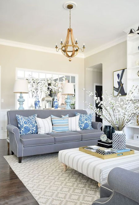 Residential Interior Project Has Modern Yet Vintage Take: Luxurious Interiors Without The