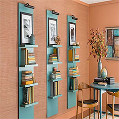 shelves that make a statement