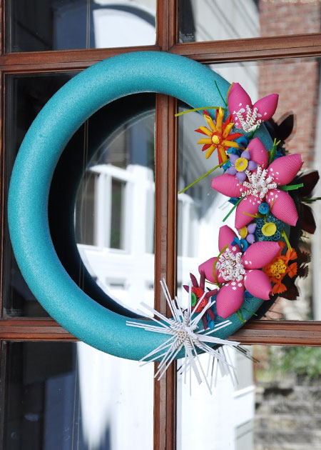 Home Dzine Craft Ideas Pasta Crafts For Mom And Kids