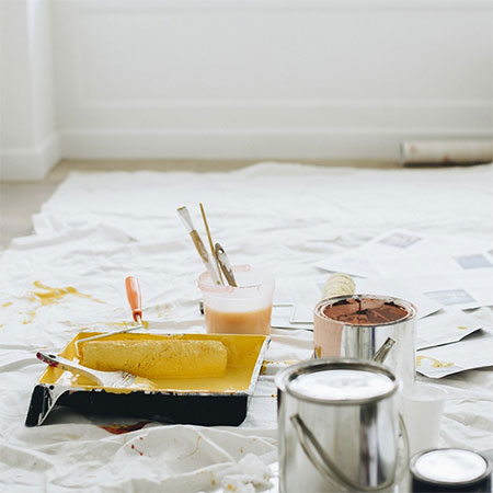 How to paint almost any surface