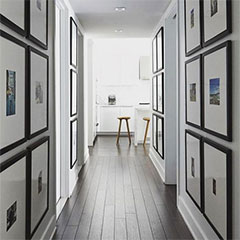 decorate a hallway