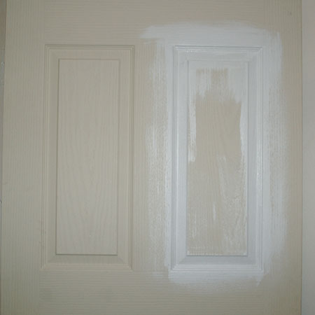 perfect painted finish for doors