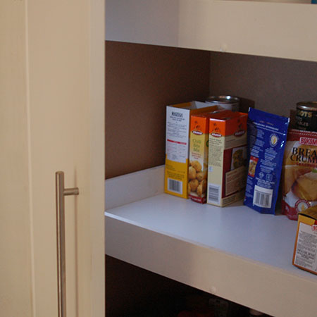add lighting to pantry or cupboard