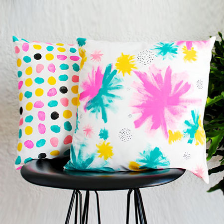 HOME DZINE Craft Ideas | Make your own Colourful Hand