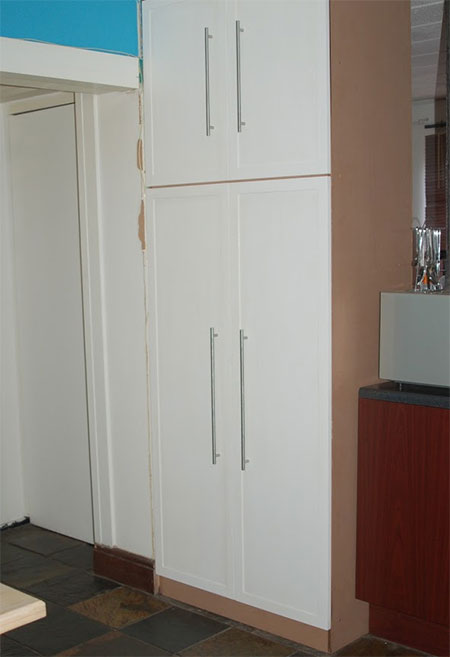 how to make Pullout Pantry for a Kitchen