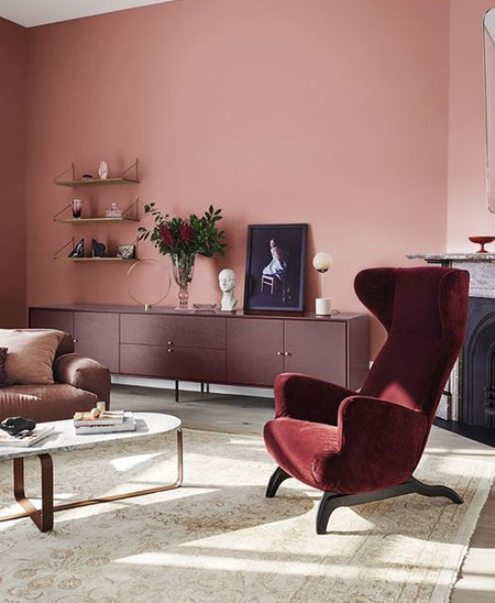 choose the perfect paint colour for walls