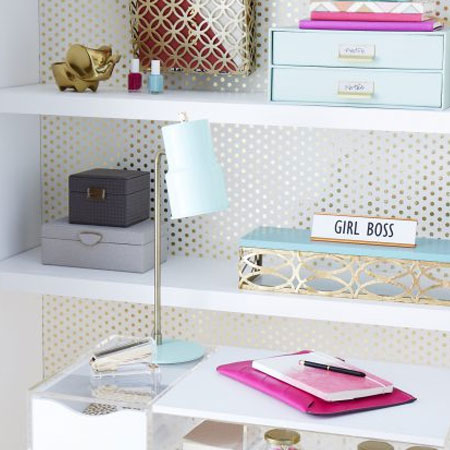 create an elegant home office