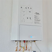 Install Residential Gas Hot Water System