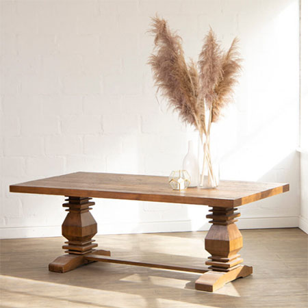cielo dining table like restoration hardware table