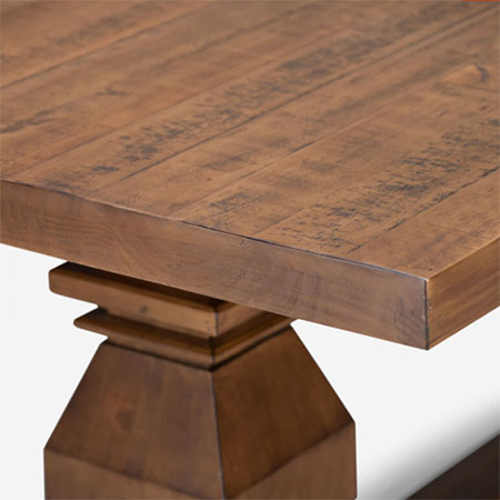 cielo offer reclaimed wood dining tables