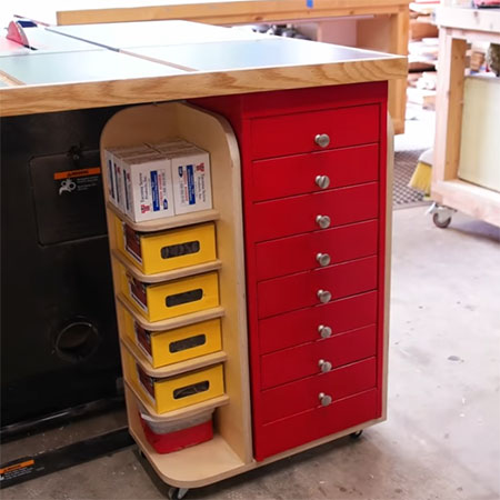 mobile workshop storage