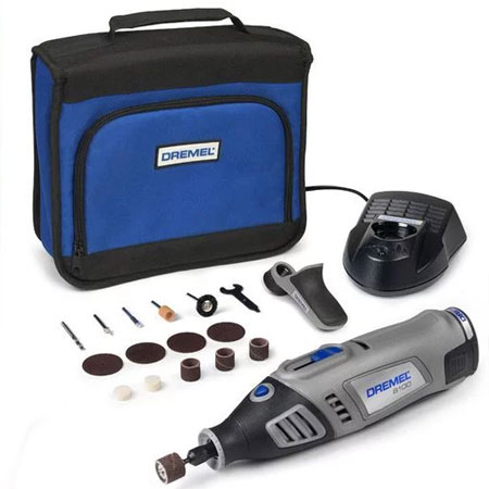 Dremel 8100 Multitool with accessories - Cordless