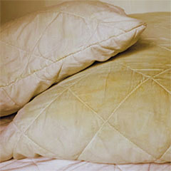 clean or replace bed pillows