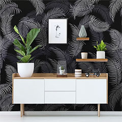 tropical feature wall