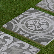 pave with porcelain pavers