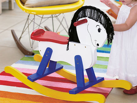 diy make kiddies rocking horse
