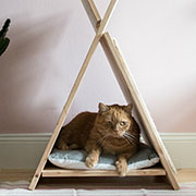 teepee cat bed