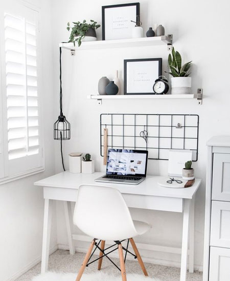 create display for home office