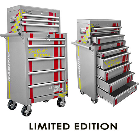 Limited-Edition Racing Tool Cabinets
