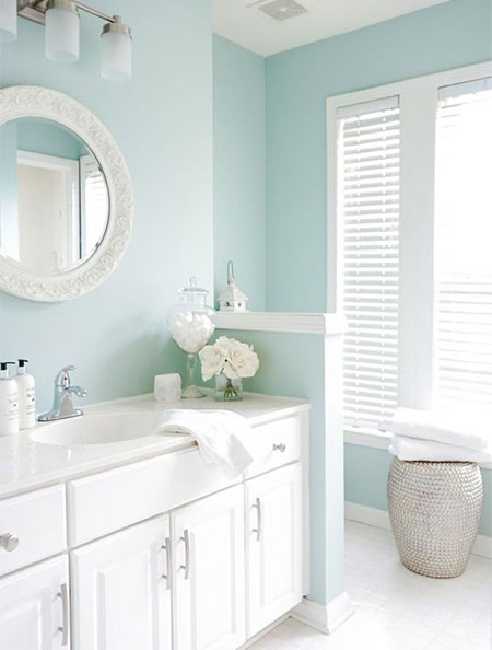 Home Dzine What Paint Is Best For A Bathroom