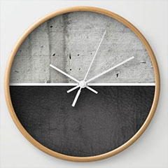 diy make wall clock