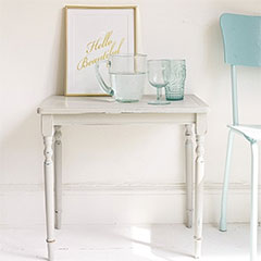 paint with builders chalk paint