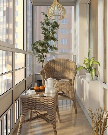 Make More Use Of An Enclosed Balcony