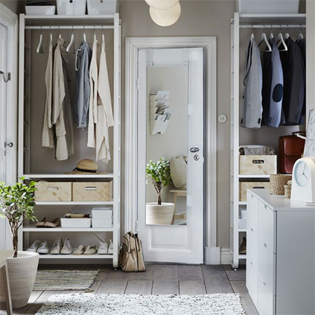 Make Space for a Walk-In Closet or Dressing Room
