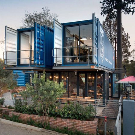 shipping container residential homes