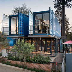 sustainable living shipping containers