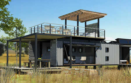 south african shipping container homes