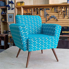 make accent chair