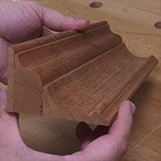 how to make crown mouldings