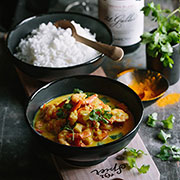 cape malay prawn curry