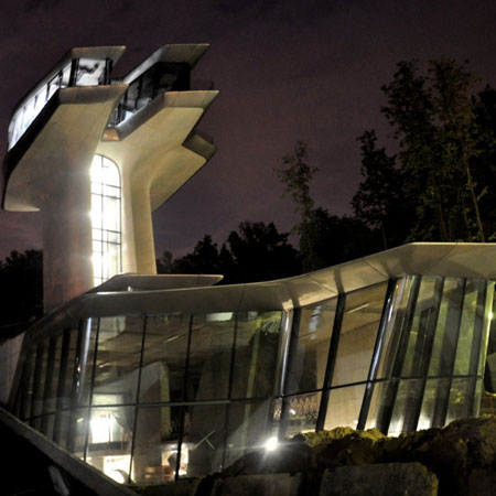 Zaha Hadid house for Naomi Campbell
