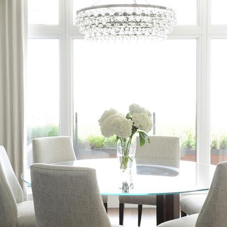 HOME DZINE Home Decor | Ideas for Glass Dining Tables