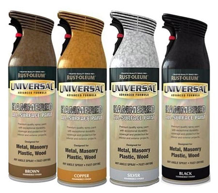 rust-oleum hammered spray paint for gates and burglar bars