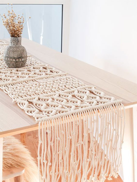 Craft Ideas using Macramé