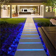 halo led strip lighting for outdoors