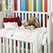 colourful stripes for nursery