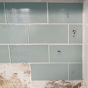 cut glass tile with clean edge