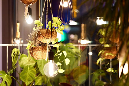 Decorative lights for garden