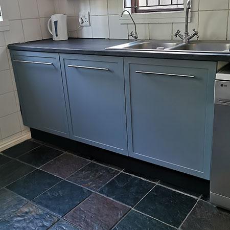 Home Dzine Kitchen Make A Kitchen Cupboard For Under Sink