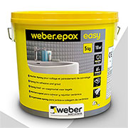 weber epox easy adhesive and grout