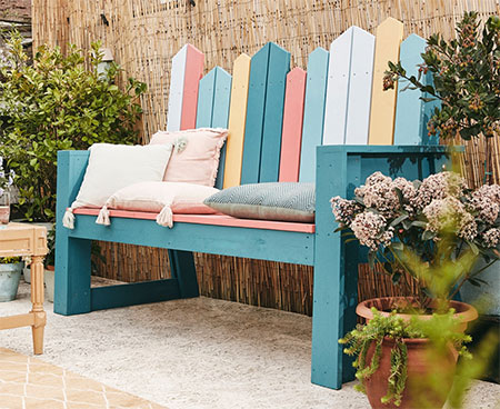 Quick and Easy Garden Bench