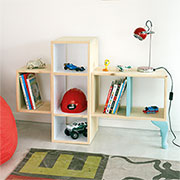 diy reading nook shelf unit