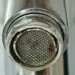 clean tap filters