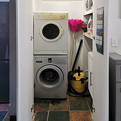 make space for laundry