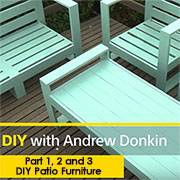 how to make garden furniture